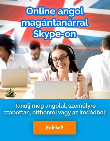 Online angol magántanárral Skype-on - jelentkezz most!
